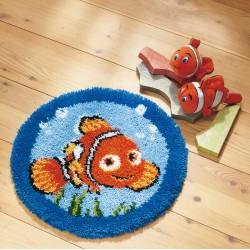Häkelset für Teppich - Nemo...