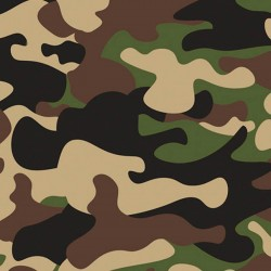 Baumwollstoff - Camouflage