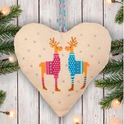 Kreuzstich-Set - Reindeer -...