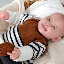 Strick-Set - Kleid Baby...