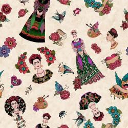 Baumwollstoff  - Frida