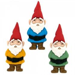 Knöpfe Garden Gnomes -...