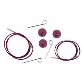 Kabel für austauschbare Rundstricknadeln - KnitPro