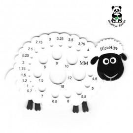 Nadelmaß Schaf HiyaHiya