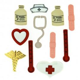 Botones La Enfermería